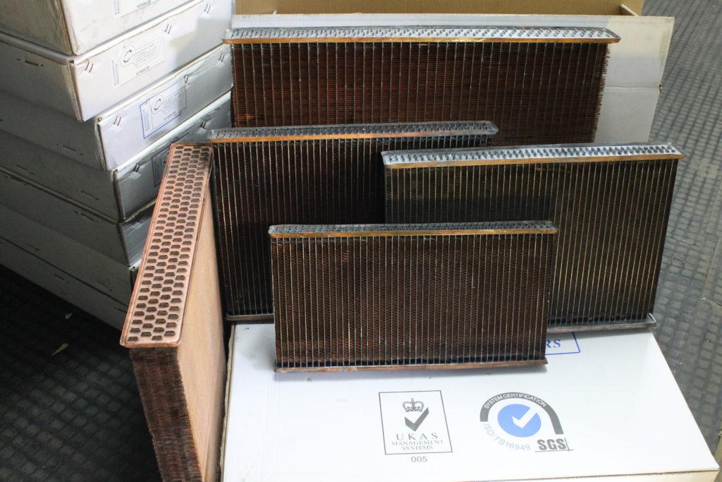 Repuestos para radiadores